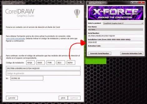 instalar corel draw x7 con keygen